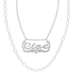 The Lady G Name Necklace