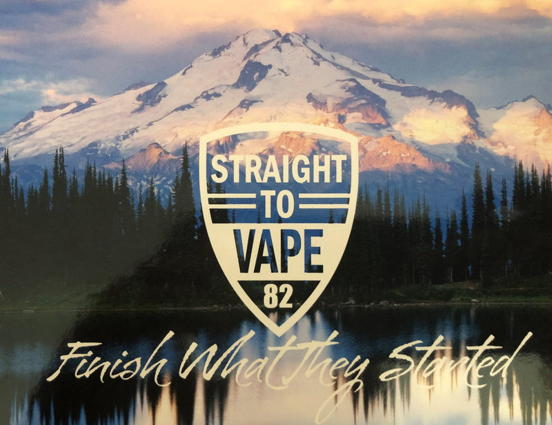 STRAIGHT TO VAPE - cloud chaserz inc