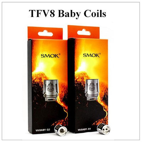 SMOK TFV8 BABY/BIG BABY COIL - cloud chaserz inc