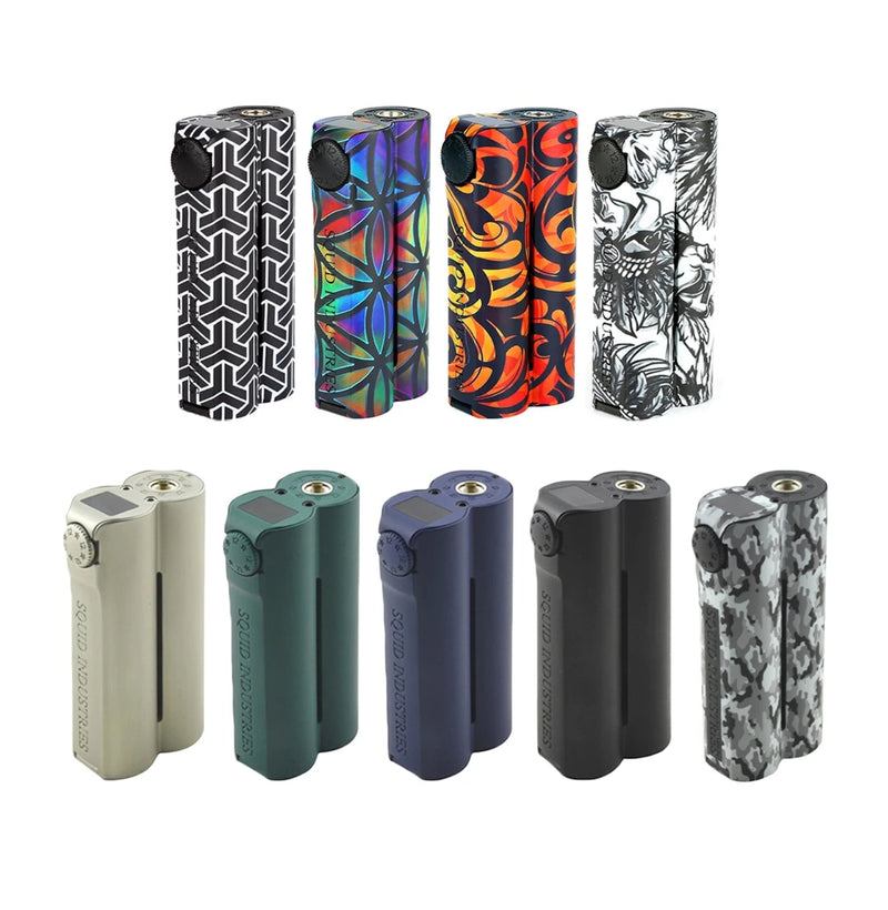 Squid Industries Double Barrel v3 150w Mod - cloud chaserz inc