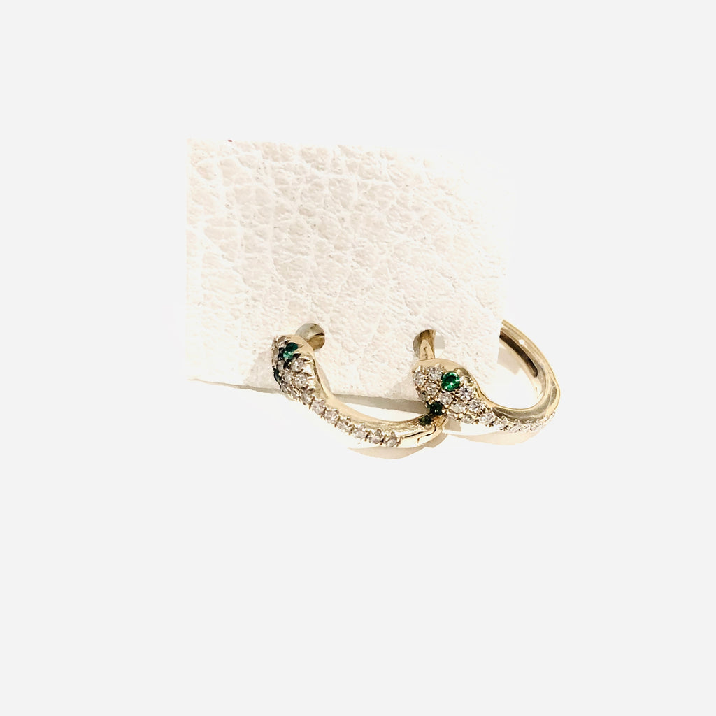 DIAMOND SNAKE HUGGIES - PAIR