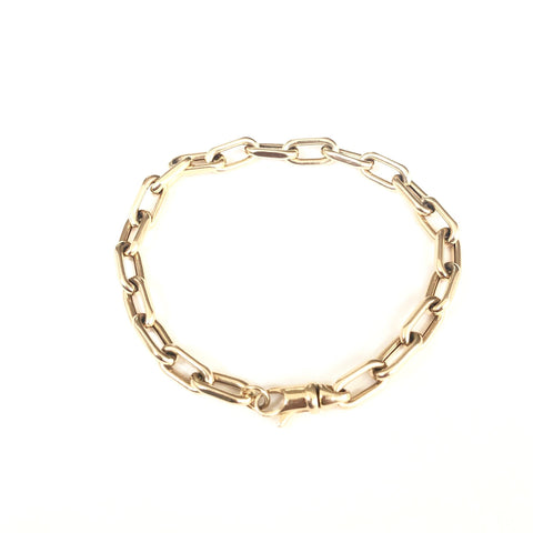 BOX CHAIN GOLD BRACELET (BEST SELLER)