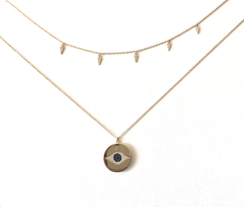 Evil Eye Locket