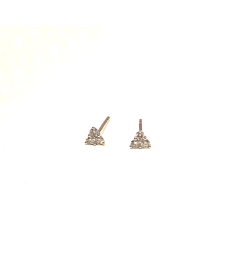 Mini Three Prong Studs (PAIR)