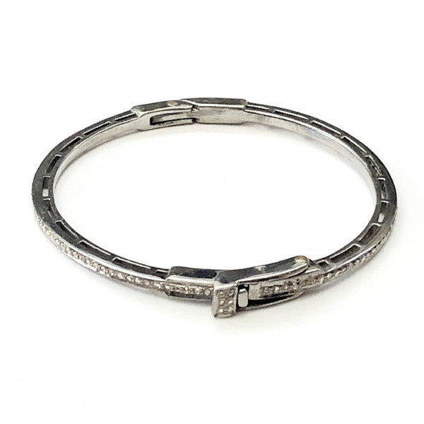 CLASSIC PAVE DIAMOND BANGLE - A.FIER LIFESTYLE