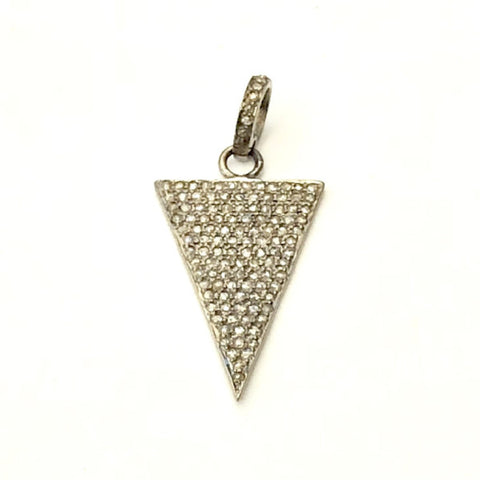PAVE DIAMOND TRILLION PENDANT - A.FIER LIFESTYLE