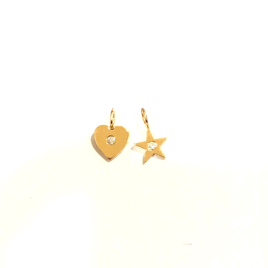 Mini Gold and Diamond Charms
