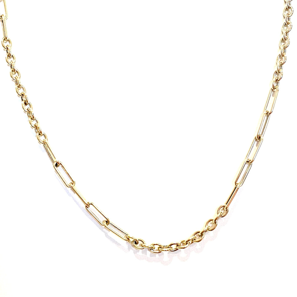 Multi-ring Gold Chain
