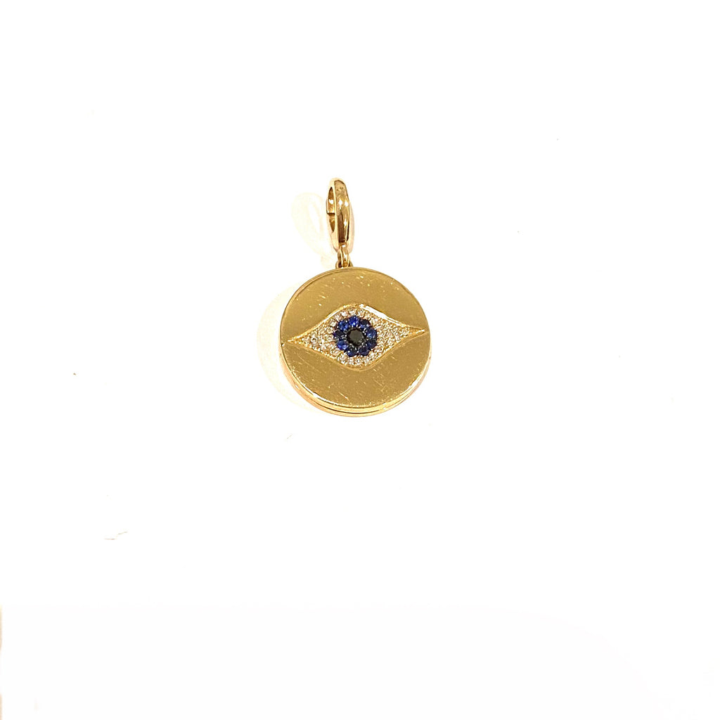 Evil Eye Locket (charm only)