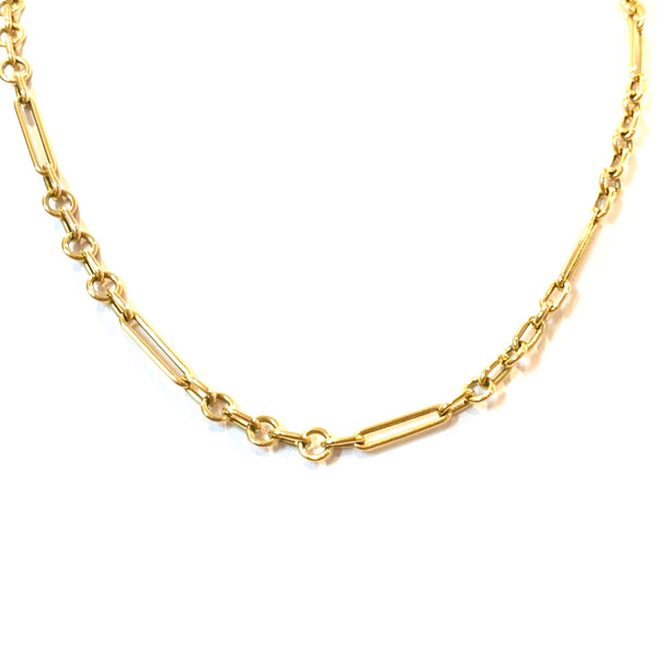 Three Ring Gold Chain