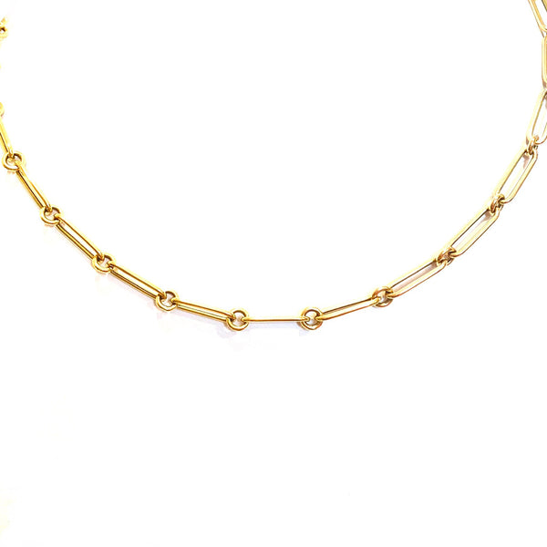 Long Link Gold Chain