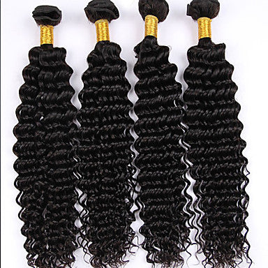 VIRGIN BRAZILIAN MINK HAIR (4 BUNDLES)
