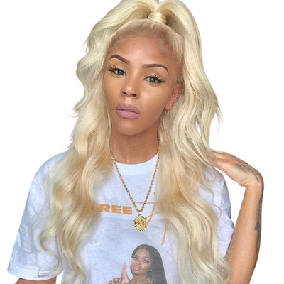 Mink Bombshell Blonde Lace Frontal