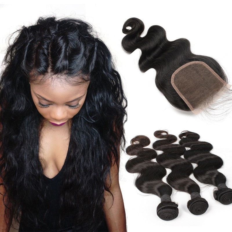 RAW Brazilian Hair (3 bundles)