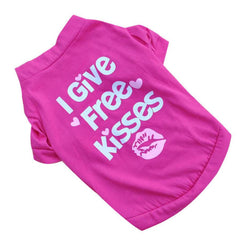 I Give Free Kisses - Clothing for Small Dogs
