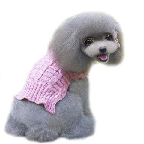 dog jaket winter warm sweater dog clothes for small dogs dress winter Clothes hondenkleding