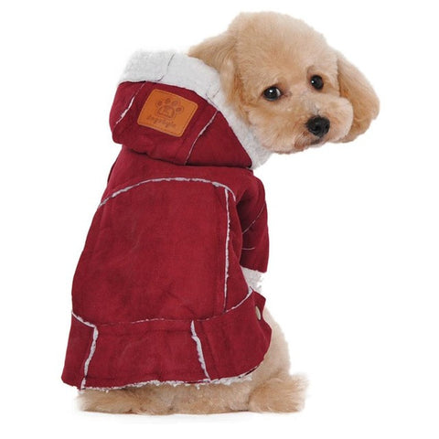 Winter Cotton Blend Jackets for Small Dogs