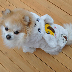 Warm Plush Clothing for Small Dogs