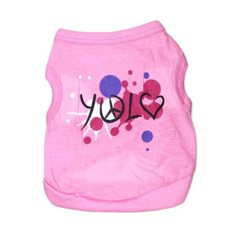 Super Deal Hot 2016 cheap small dog clothes summer spring Pet Products yorkie dog clothing for animal cats clothing chihuahua XT