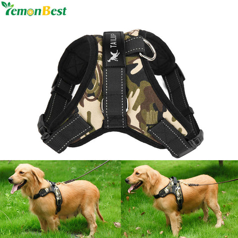 Pet Supplies Large Dog Harness Collar Soft Adjustable Harness Vest Dog Chest Strap For Medium Large Dog Walk Out Hand Strap M/L