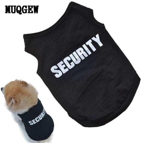 Security Shirt for Small Dogs