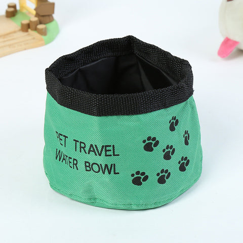 Port-A-Bowl Collapsible Travel Dog Food and Water Bowl
