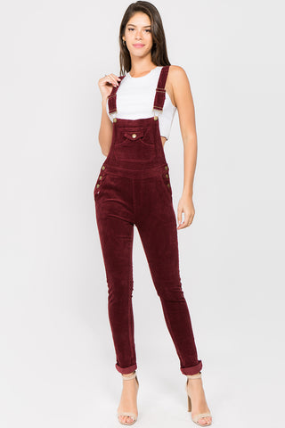 PLUS SIZE Corduroy Edition OVERALL -Wholesale Americanbazi