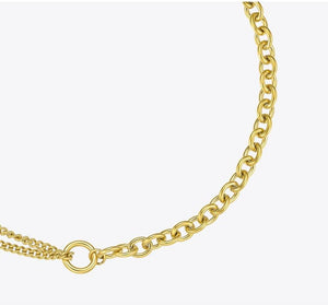 Link Chain Choker Necklace