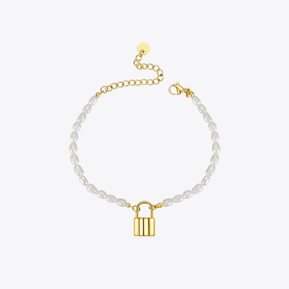 Ula Natural Pearl Bracelet With Lock