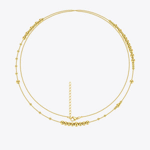 Jasmine Double Layer Necklace
