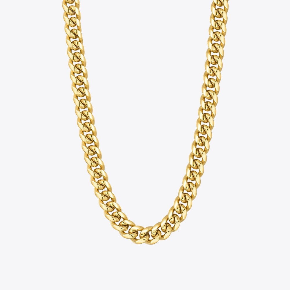 Noemie Wide Chain Necklace