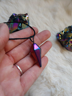 Rainbow Metal pendant