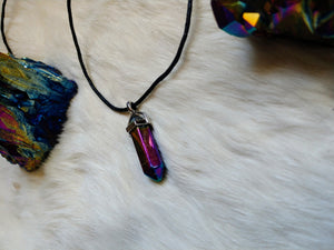 Aura Quartz Point Pendant