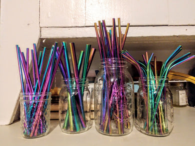 Reuseable Rainbow Straw