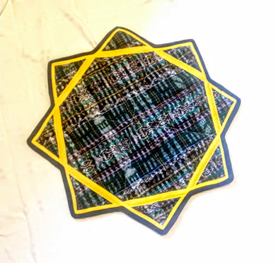 Large Guatemalan Dapo Star Poi Cloth 3