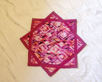 Small Guatemalan Dapo Star Poi Cloth 1
