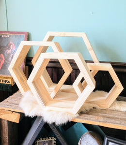 Hexagon Nesting Shelves