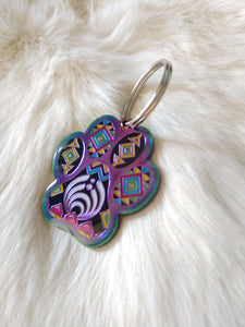 Rainbow Bass Charm Large