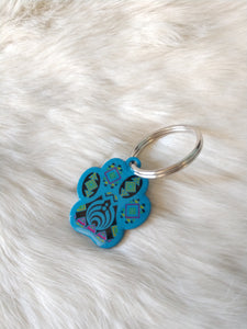 Blue Bass Charm Small