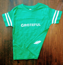 Green Grateful Toddler Ringer