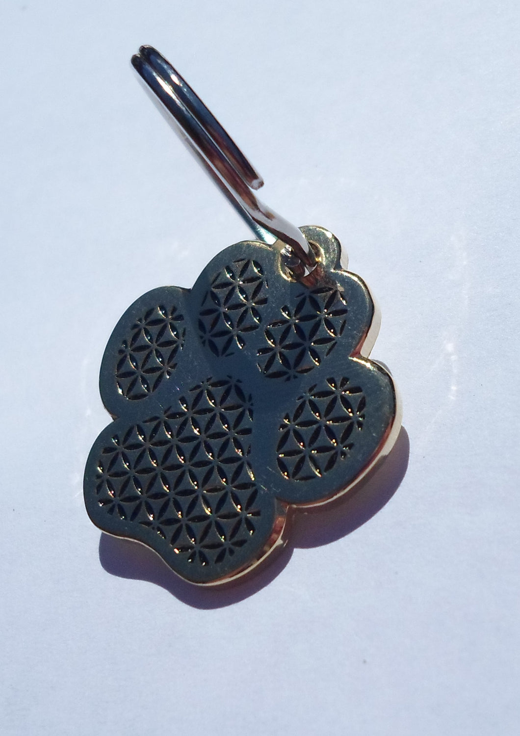 Gold Flower Of Life Paw