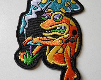 Trippin frog