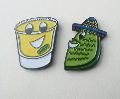 Tequila Buddies Pin Set