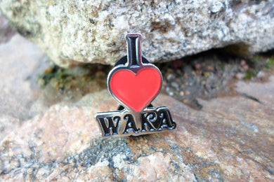 I Love Waka Pin