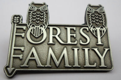 Forest Family Pin