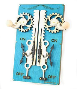 Blue Rack and Pinon Switch Plate