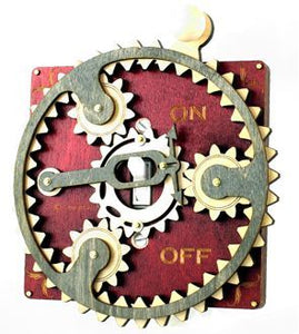 Maroon Planetary Switch Plate