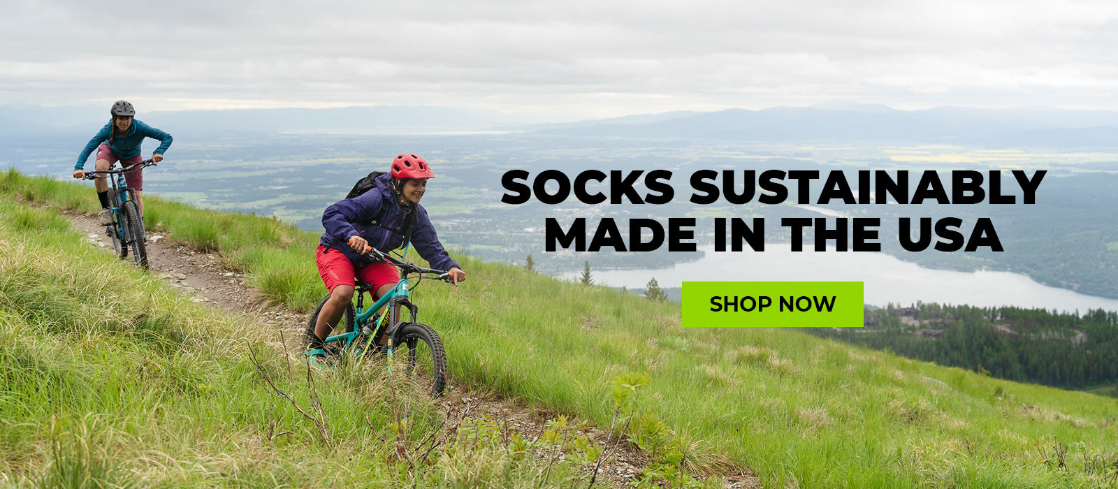 Socks Sustainably Made In The USA, Shop Now
