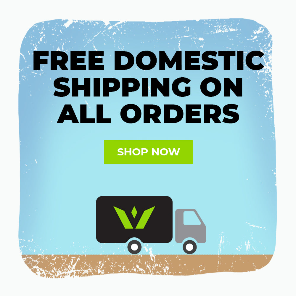 Free Domestic Shipping On All Orders, Shop Now
