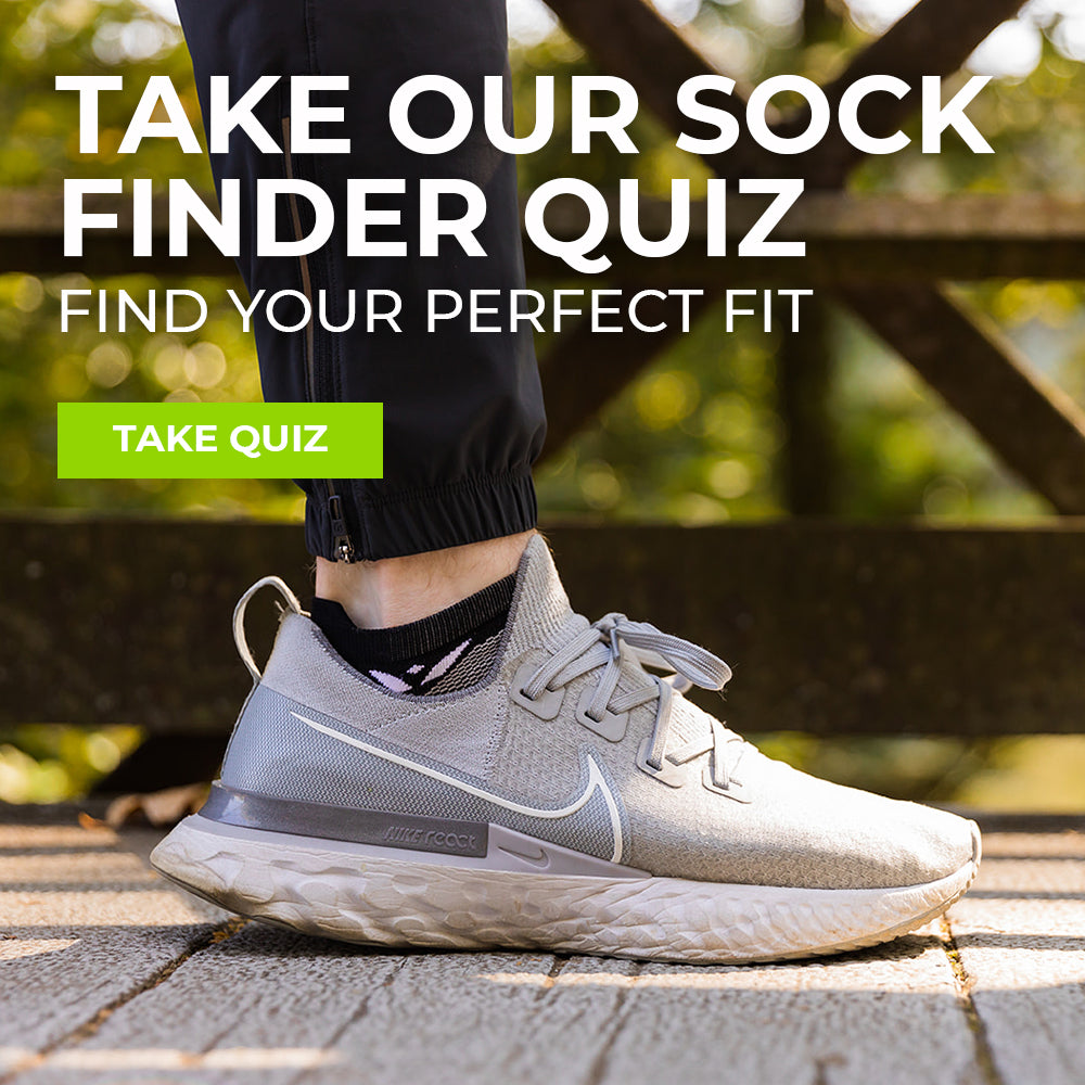 Take Our Sock Finder Quiz, Find Your Perfect Fit, Take Quiz